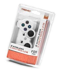 Trenro PS3 Wireless Controller White with Rechargeable