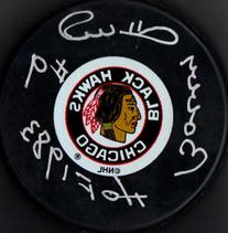 "PSA/DNA Bobby Hull #9 ""HOF 1983"" Autographed Signed Chicago"