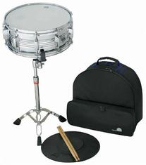 Percussion Plus PSK300 Snare Drum Kit with Backpack Bag