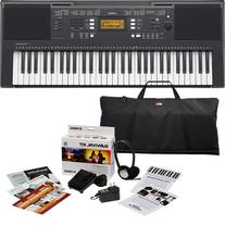Yamaha PSR-E343 Keyboard PERFORMER PAK w/ Carrying Bag &