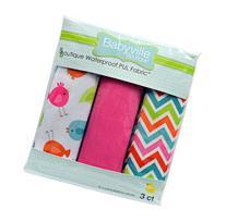 Babyville Boutique 3 Count PUL Fabric, Little Birds,