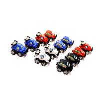 Dazzling Toys Pull Back & Let Go Race Cars 12 Pack, Assorted