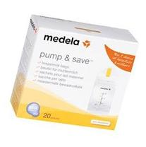 Medela Pump and Save Breastmilk Bags, 20 Count