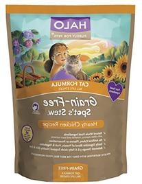 Halo Spot's Stew Holistic Dry, Grain Free Cat Food, Hearty