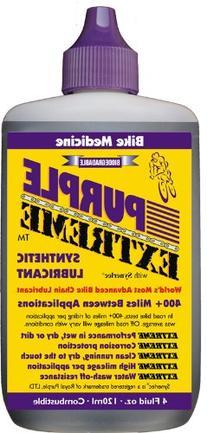 Bike Medicine Purple Extreme Performance Synthetic Chain