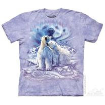 The Mountain Purple 100% Cotton Find 10 Polar Bear Pair T-