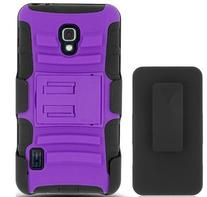 MobilePick Purple Slim and Durable Tough Armorbox Dual Layer