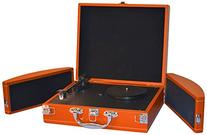 PYLE PVTTBT8OR Bluetooth Classic Vintage Style Vinyl Player