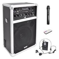 Pyle Dual Channel 400 Watt Wireless PA System W/USB/SD/MP3,