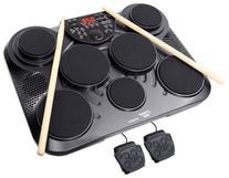 PylePro Portable Drums, Tabletop Drum Set, 7 Pad Digital