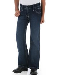 Wrangler Girls' Q Ultimate Riding Jeans Denim 8