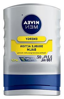 NIVEA MEN Energy Double Action After Shave Balm Q10, 3.3 oz