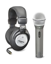 Samson Q2U Handheld Dynamic USB Microphone with Headphones