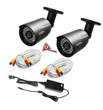 Q-SEE QCA7209B HD 720p Bullet Camera Heritage/Analog -2PK