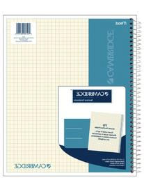 Cambridge Quad Wirebound Notebook 70ct