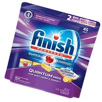 Finish Quantum Max Ultra Degreaser Lemon 45 Tabs, Automatic