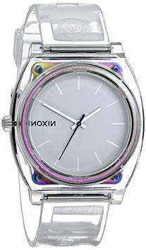 Nixon Men's 'Time Teller P Translucent' Quartz Plastic