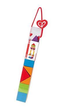 Hape Qubes City Planner Blocks Kid's Wooden Stacking Toy