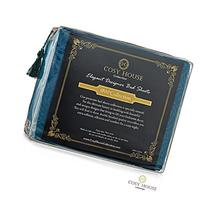 Cosy House Collection Elegant Bed Sheets - Queen Size, Dark