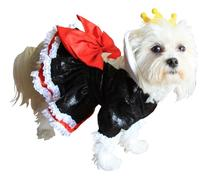 Queen of Hearts Dog Costume Size: Small