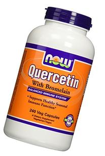 Now Foods Quercetin with Bromelain, 240 Vcaps
