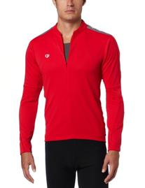 Pearl Izumi Quest Jersey - Long-Sleeve - Men's True Red, S