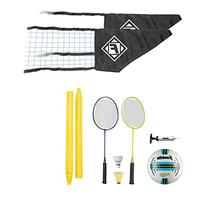 Franklin Sports Quikset Volleyball and Badminton Combo