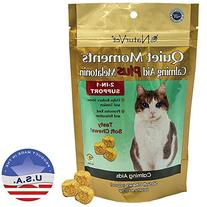 NaturVet 50 Count Quiet Moments Calming Cat Plus Melatonin
