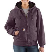 Carhartt Women's Quilted Flannel Lined Sandstone Active