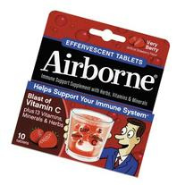 Airborne quot;Immune Support Effervescent Tablet, Very Berry