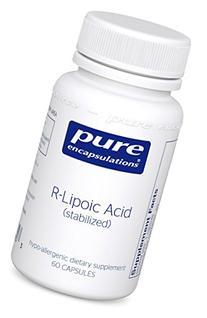 THORNE RESEARCH - R-Lipoic Acid 60c