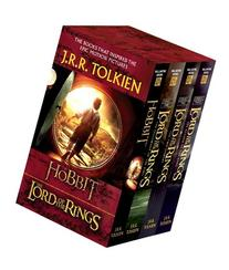 J. R. R. Tolkien 4-Book Boxed Set: the Hobbit and the Lord
