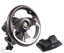 Saitek R100 USB Sports Wheel, Works with Pc & Mac, High
