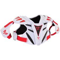 Warrior Youth Rabil NXT Shoulder Pad, White, Medium