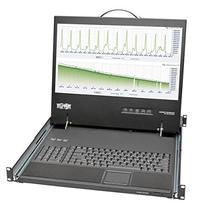 Tripp Lite Rackmount Console Short Depth Steel with Keyboard