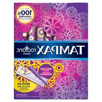 Tampax Radiant Plastic Unscented Tampons, Regular Absorbency