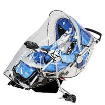 Simplicity Rain & Wind Shield Transparent Baby Stroller