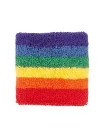 American Apparel Rainbow Loop Terry Wristband - Rainbow /