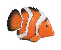 Swimways Rainbow Reef Mini Fish - Orange/White