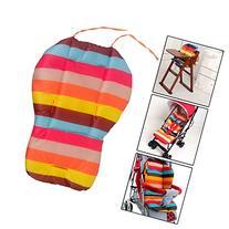 Vktech® Rainbow Color Soft Thick Pram Cushion Chair BB Pram