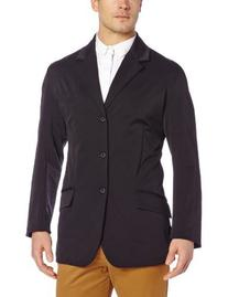 TuffRider Men's Raleigh Show Coat, Black, X-Large