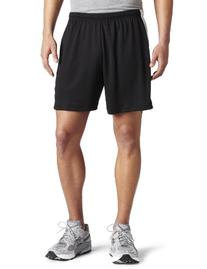 ASICS Men's Rally Short, Black/White, X-Large