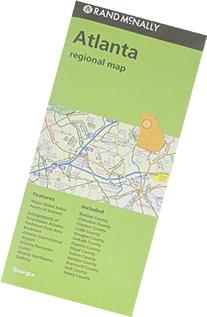 Folded Map Atlanta Regional Ga