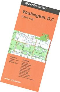 Rand Mcnally Washington D.C. Street Map