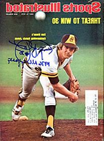 Randy Jones 1976 N.L. CY Young AutographedSports Illustrated