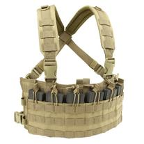 Condor Rapid Assault Chest Rig - Tan MCR6-003