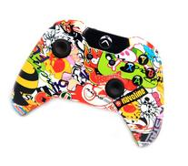"""""""Sticker Bomb"""" Xbox One Rapid Fire Modded Controller 40 Mods"""