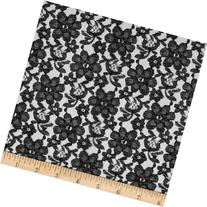 Raschel Lace Black Fabric By The Yard