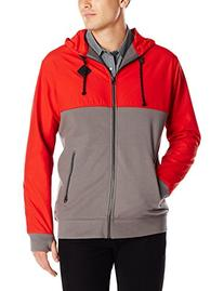 Burton Men's Ravine Hooded Fleece Hoodie, Medium, Burner/
