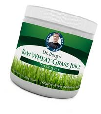 Dr. Berg's Wheat Grass Juice Powder - Raw & Ultra-